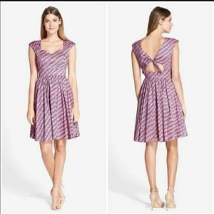 Plenty dresses by tracy reese pink blue dress 4